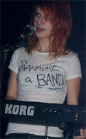 Hayley Williams Paramore is a Band t-shirt