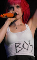 Hayley Williams B.O.Y. sharpie t-shirt