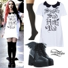 Ash Costello: 'Super Sad Hella Rad' Dress