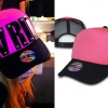 Avril Lavigne: Pink & Black Trucker Hat