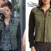 Cassadee Pope: Hooded Army Jacket