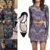 Cassadee Pope: Scalloped Lace Set