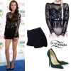 Cher Lloyd: 2014 TCAs Outfit