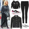 Ellie Goulding: Denim Jacket, Fringed Bag