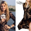 Juliet Simms: Lace Long Sleeve Maxi Dress