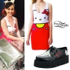 Katy Perry: Hello Kitty Dress & Creepers