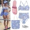 Katy Perry: Seagull Print Bikini, Pink Slides
