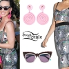 Katy Perry: Printed Bustier & Skirt, Spiral Earrings