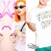 Kreayshawn: 'Fuck Off' Slime T-Shirt