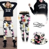 Lil Debbie: Floral Pants, Cropped Sweater