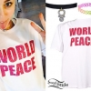 Miley Cyrus: 'World Peace' T-Shirt