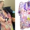 Miley Cyrus: Naked Anime T-Shirt
