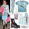Miley Cyrus: Cloud Jacket, Dolphin Dress