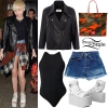 Miley Cyrus: Printed Top & Pants