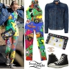 Miley Cyrus: Betty Boop Jumpsuit, Denim Jacket