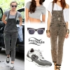 Miley Cyrus: Floral Dress, Black Boots