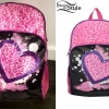 Miley Cyrus: Pink Leopard Print Backpack