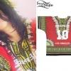 Rihanna: Tribal Print Jersey