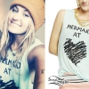 Scout Taylor-Compton: Mermaid At Heart Tee