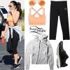 Selena Gomez: Black Bomber Jacket, White Tee