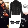 Selena Gomez: Young & Free Sweatshirt, Leather Jacket