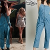 Selena Gomez: Denim Jumpsuit