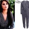 Selena Gomez: Printed Jumpsuit