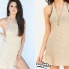 Selena Gomez: Knitted Slit Dress
