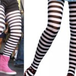 Hayley Williams: Striped Tights