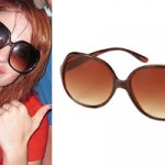 Hayley Williams: Tortoise Sunglasses