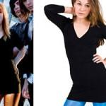 Hayley Williams: Black Shirt Dress