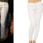 Hayley Williams: White Skinny Jeans