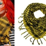 Hayley Williams: Yellow Shemagh Scarf