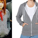 Hayley Williams: Peppered Gray Hoodie