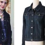 Hayley Williams: Dark Denim Jacket