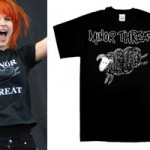 Hayley Williams: Minor Threat Sheep T-Shirt