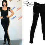 Katy Perry: Work Custom Jeans