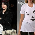 Ashlee Simpson: Marilyn Monroe Top