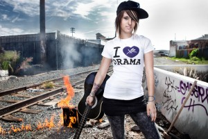 Cassadee Pope for Young & Reckless clothing