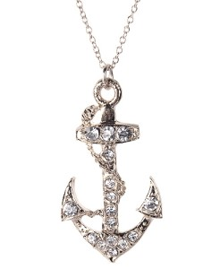 sierra kusterbeck anchor necklace steal her style