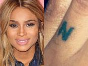 Ciara Tattoos