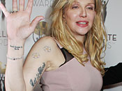 Courtney Love Tattoos