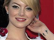 Emma Stone Tattoos