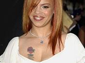 Faith Evans Tattoos