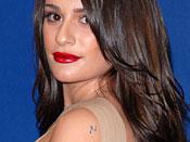 Lea Michele Tattoos