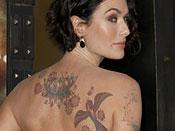 Lena Headey Tattoos