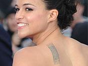 Michelle Rodriguez Tattoos