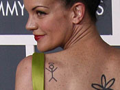 Pauley Perrette's Tattoos