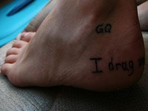 Inside Foot Tattoos