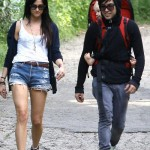 on a hike in Beverly Hills - May 2, 2010
